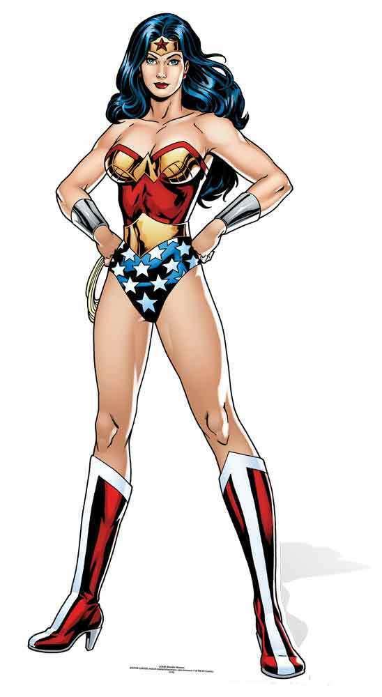 Wonder Woman Die Liga Der Gerechten DC Comics Pappfigur   Aufsteller Beschädigt | Spielen Sie das Beste  | Zu verkaufen
