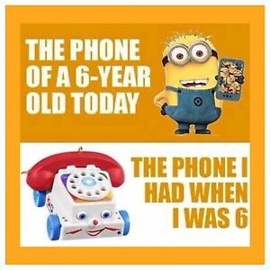 4-034-x4-034-Flexible-Fridge-Magnet-Minion-Meme-Silly-Funny-Humor-Phone-Of-A-6-Year-Old