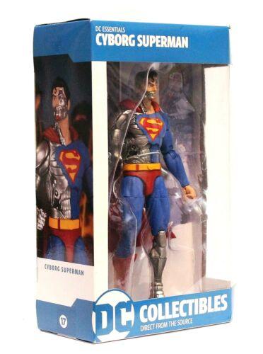 "DC Essentials-CYBORG SUPERMAN-DC Comics 7/"" Action Figure DC Collectibles New"