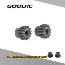 2Pcs M1 5mm 14T Pinion Motor Gear for 1/8 RC Car Brushed Brushless Motor RY0E