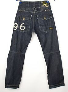 G-Star Brut Hommes Elwood Héritage Embro Slim Jeans Jambe Droite Taille W29 L32