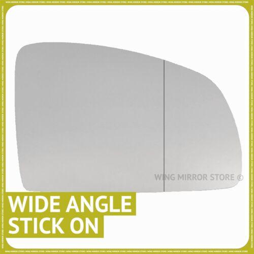 Main droite côté conducteur pour Opel Meriva A 02-10 Grand Angle Wing mirror glass