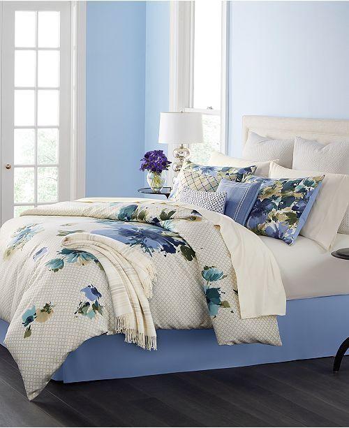 martha stewart bedding meadow bouquet 10 piece queen comforter set 14 f980 ebay - Martha Stewart Bedding