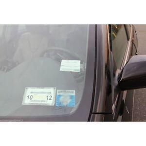 2PCS-Car-Vehicle-Parking-Ticket-Permit-Holder-Clip-Sticker-Windscree-LN8