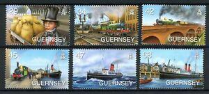 Guernsey-MiNr-1083-88-postfrisch-MNH-Brunel-RS1511