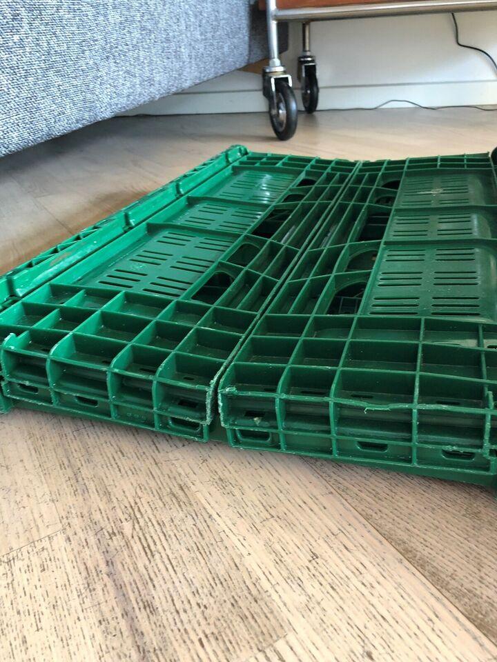 Plastklapkasser