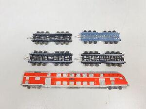 CD346-0-5-4x-Wiking-H0-1-87-Strassenroller-ohne-Rampe-fuer-Zugmaschine-TOP