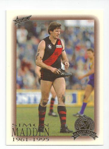 Simon MADDEN Essendon 100 1996 Select Hall of Fame