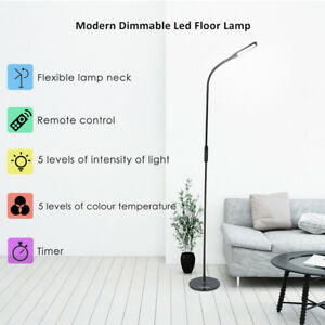 Details about LED Tall Floor Standing Lamp Dimmable Night Light Living Room  25 Mode Adjustable