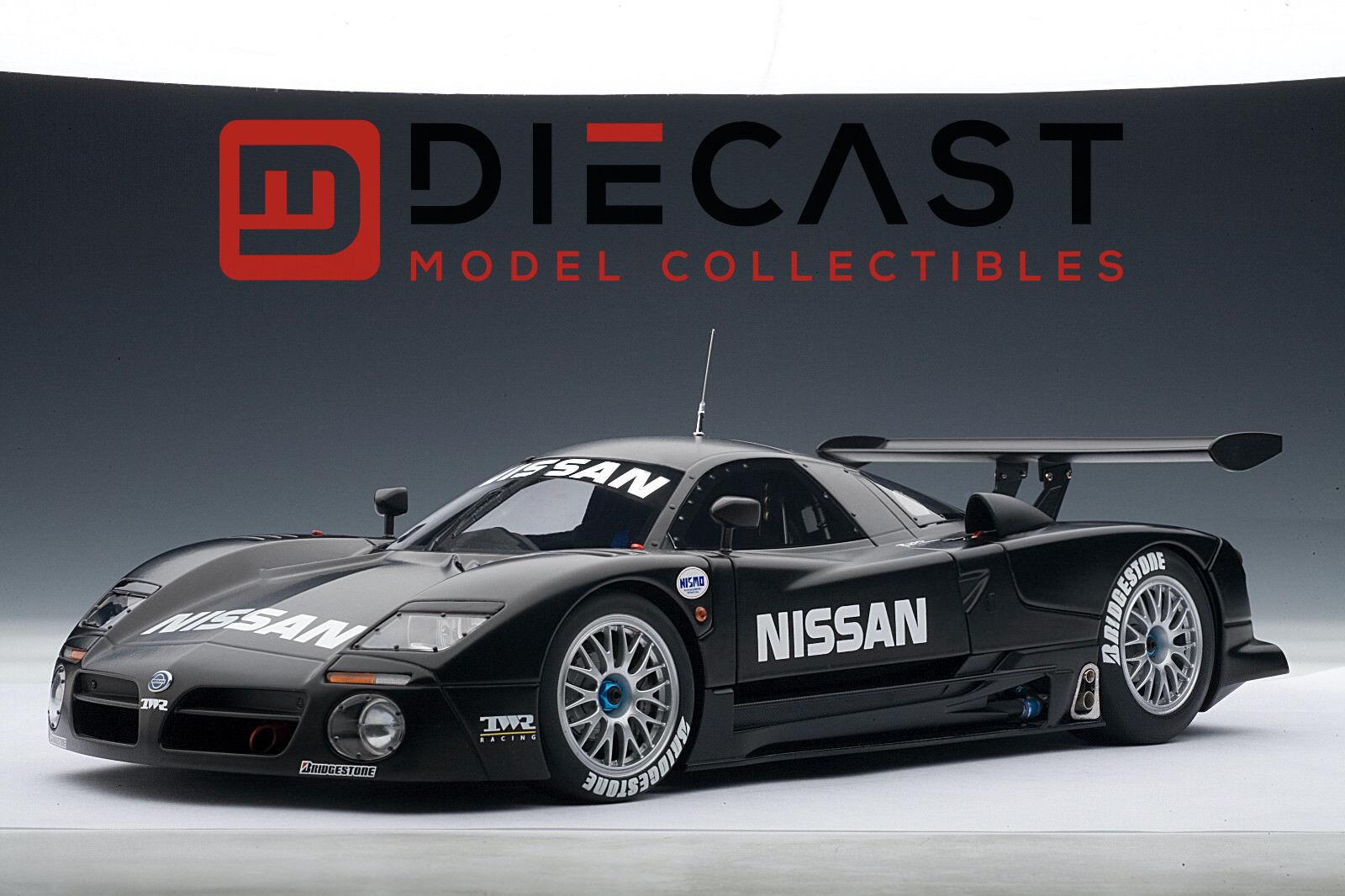 Autoart Autoart Autoart 89778 Nissan R390 GT1 Lemans 2018 Test Coche 1:18TH Escala e64200