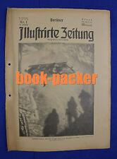 BERLINER ILLUSTRIRTE ZEITUNG 1924 Nr. 1: Rekorde des Wintersports