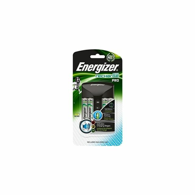 Energizer Pro AA & AAA Rechargeable Batteries 4 x 2000mAh Battery Charger Pack