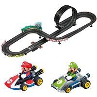 Nintendo Mario Kart 8 Track Set, Carrera Go Slot Car Racing Playset