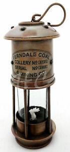 Vintage-Brass-Minor-Oil-Lamp-Antique-Maritime-Ship-Lantern-Nautical-Boat-Light