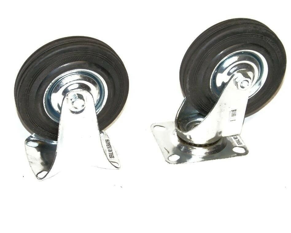 Silver DOITOOL 16Pcs Ball Caster Wheel with Top Plate Vintage Antique Swivel Caster Heavy Duty Replacement Wheel for Home Furniture Drawer