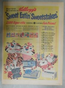 Kellogg's Cereal Ad: Tony The Tiger Prizes from 1968 Size: 11 x 15 inches