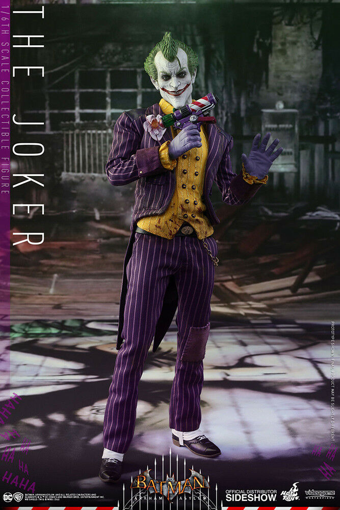 Hot Toys Batman Arkham Asylum 12inch Joker Af Action-figur