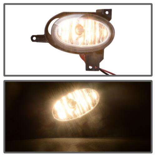 Fog Light Lamps With Chrome Bezel w//Bulbs Wiring For 2017 2018 Honda CR-V CRV