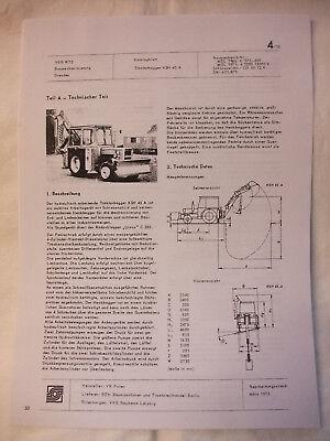 Baugewerbe Reklame Preiswert Kaufen Ddr Reklame Werbung Prospekt Datenblatt Traktorbagger Ksh 45 A Vr Polen 1973 Hohe Belastbarkeit