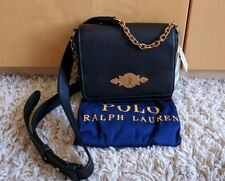 f3671e96b61 Genuine Polo Ralph Lauren Brooke Chain Leather Bag Black New With Tags  RRP£249