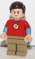 Lego New The Big Bang Theory Sheldon Cooper Guy Minifigure