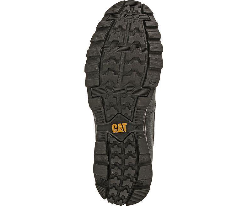 CAT Caterpillar da uomo, in pelle Founder Pizzo Scarpe Stivaletti Stivaletti Stivaletti alla caviglia 219eec