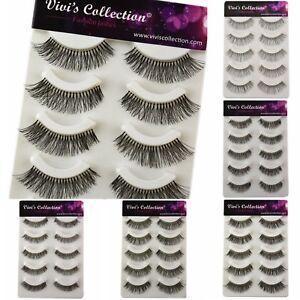 Vivis-False-Eyelashes-5-Pairs-Strip-Fake-Eye-Lashes-Multiple-Lengths-Handmade-V1