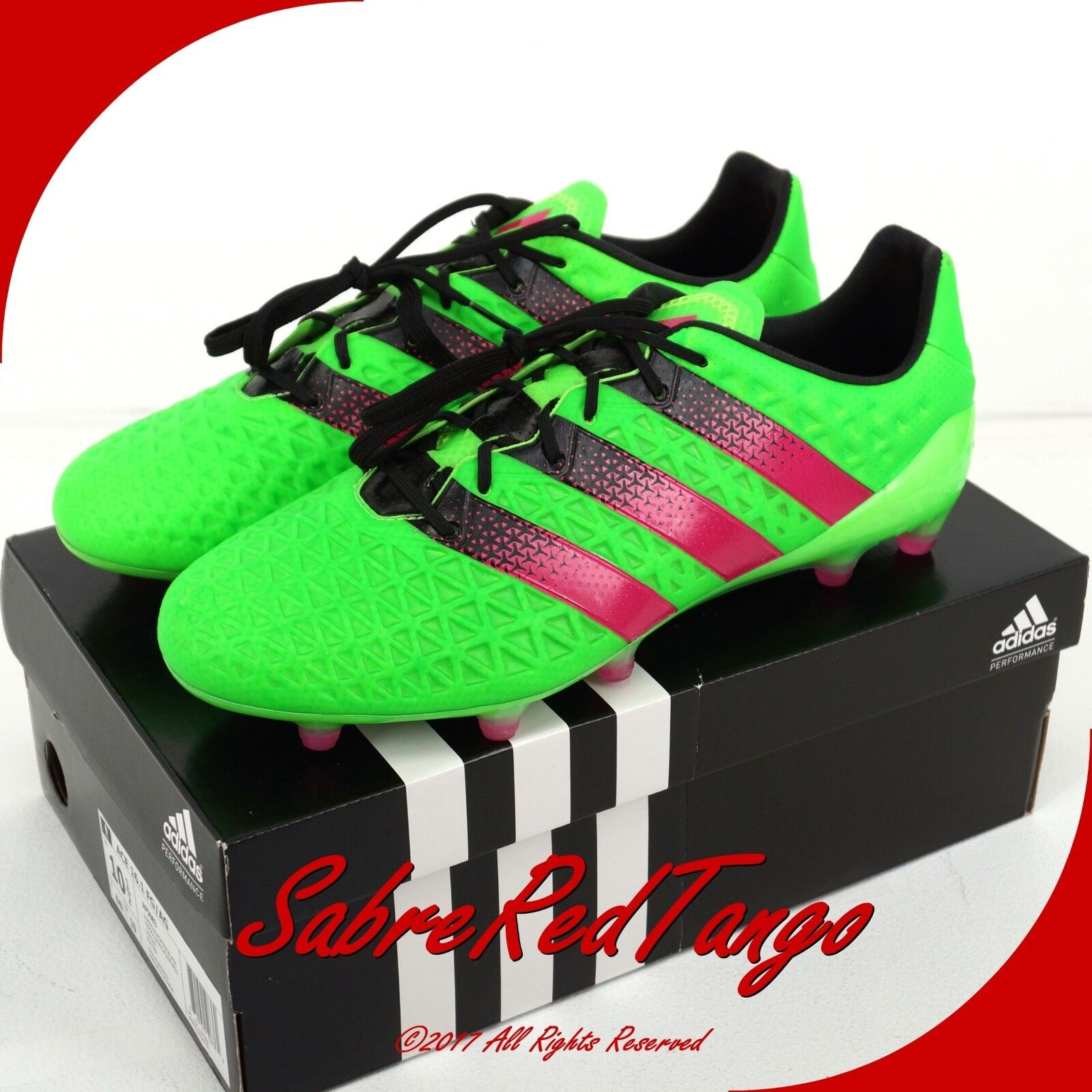 huge discount 24631 c82fa NWT ADIDAS MEN'S ACE 16.1 FG/AG SOCCER CLEATS SHOES SHOES ...
