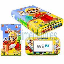 Super Mario Maker Vinyl Skin Decal Sticker for Nintendo Wii U Console Controller