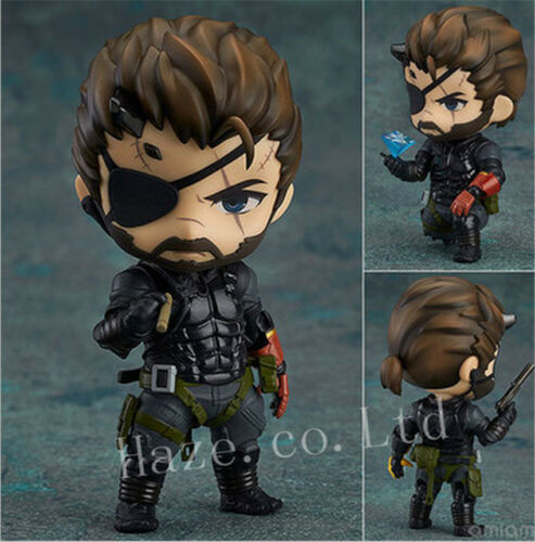 "Metal Gear Solid Venom Snake Nendoroid PVC Figure Model Toy Gift 4/"""