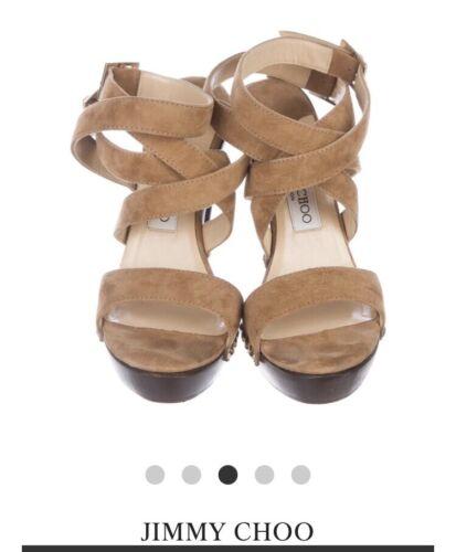 Jimmy Choo Unity sandals strappy platform heels si