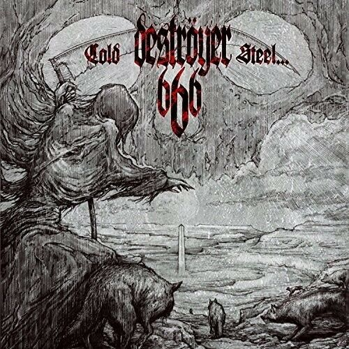 Destroyer 666 - Cold Steel For An Iron Age [New Vinyl LP] Black, Clear Vinyl, Ga
