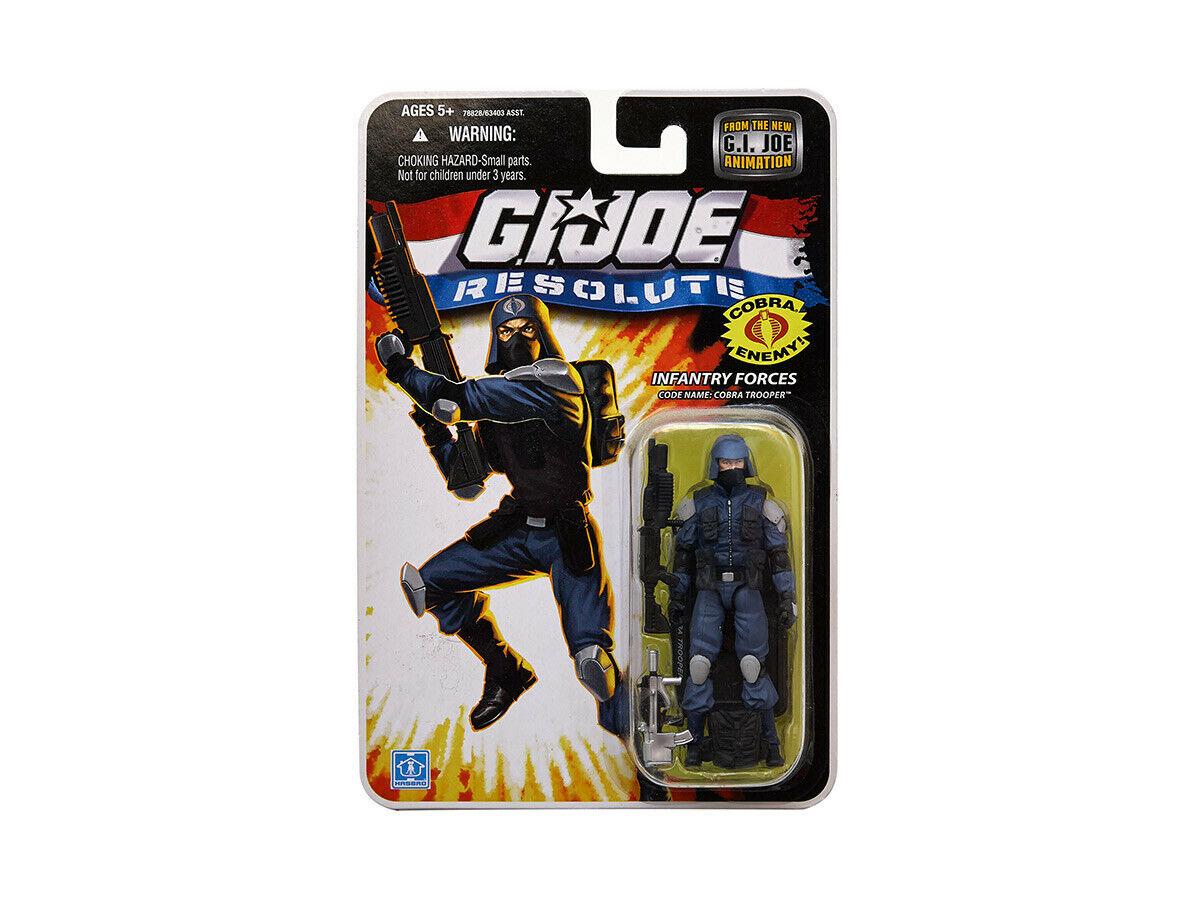 G.I. JOE   Cobra Trooper   25th Anniversaire   Resolute animation   2009   Comme neuf