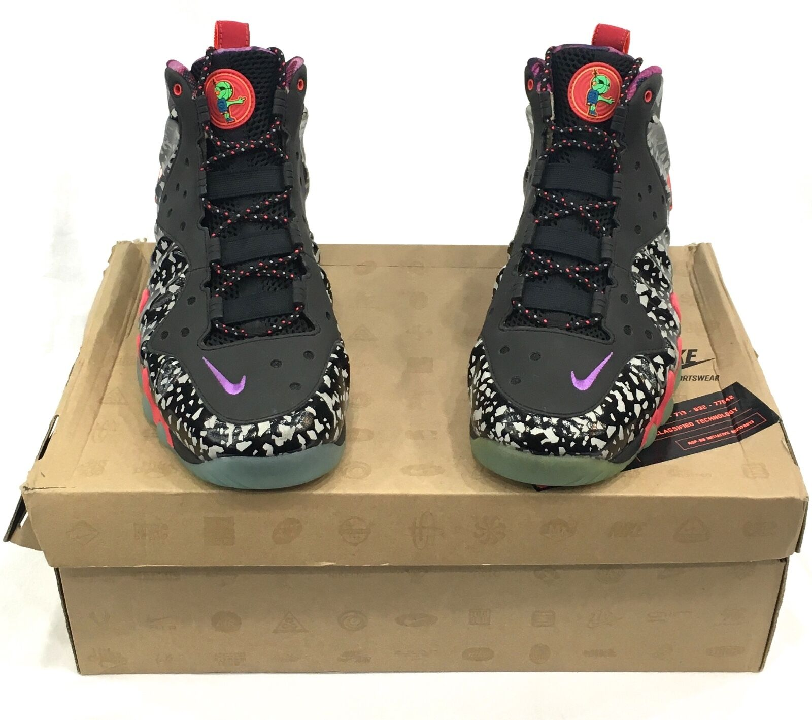 Nike Barkley Posite Max Area 72 Collection Size 9.5 100% AUTHENTIC