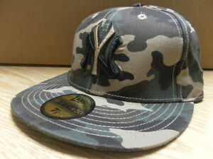 ca3c6b2e579a0 NEW ERA NEW YORK YANKEES FITTED HAT  ARMY CAMO  7 - 7 5 8  BARGAIN ...