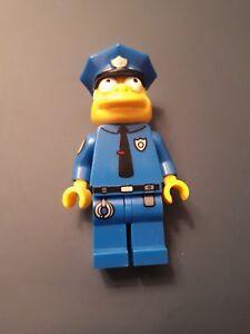 LEGO SERIES 1 SIMPSONS CHIEF WIGGUM MINT CONDITION