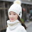 Winter-Warm-Women-039-s-Ladies-Hat-And-Scarf-Set-Knitted-Neck-Warmer-Beanie-Ski-Cap thumbnail 9