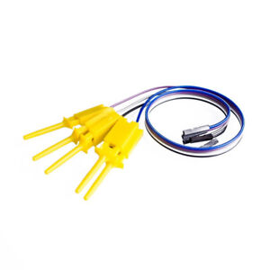 Logic Analyzer Cable Probe Test Hook Clip Line Jumper Cable 10 Channels