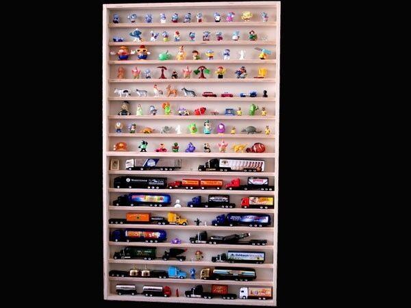 Mettiti cassetta in legno Uomoola a parete vetrina da collezione vetrina per modelli personaggi pietre v57