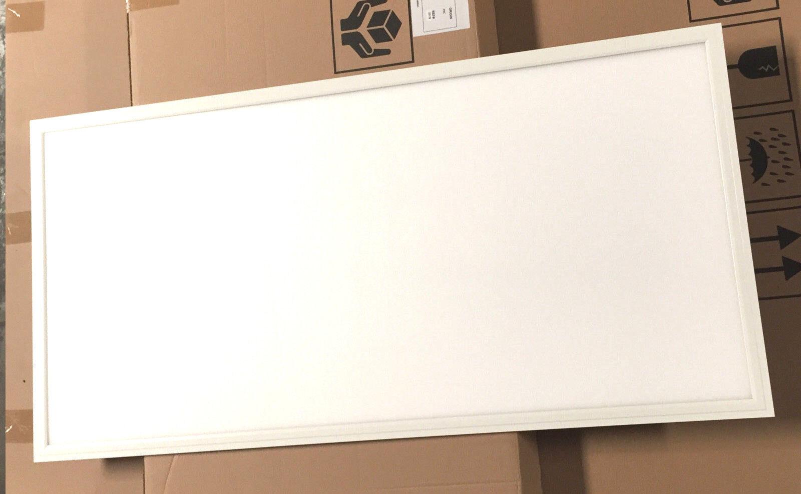 1pc UL DLC 105lm W 50W LED Drop Ceiling 2x4' 5000K Comercial Panel Light