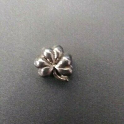 925 Sterling Silver Reflections CZ Clover Bead