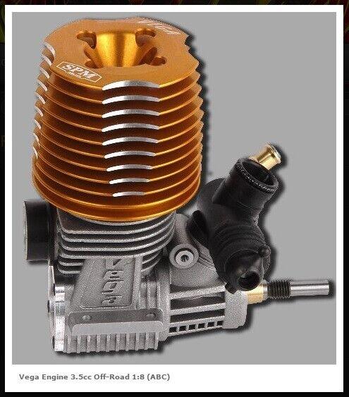 MOTORE SCOPPIO 1  8 VEGA 6 TRAVASI ENGINES 3.5cc OFF strada 85 VGT6BN +CeELA GLOW  risparmiare sulla liquidazione