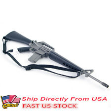 1/6 Scale Gun Model Plastic US Soldier Assault Rifle M16A1 Toy Collection USA St