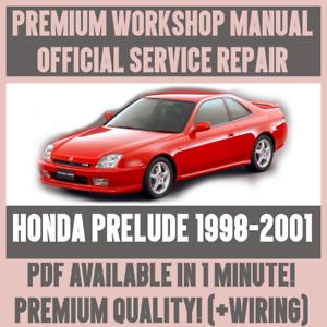 Honda prelude 92 96 service manual.
