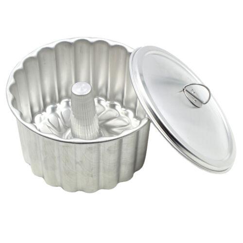 Triunfo Flan Pudding Mold With Lid Banho Maria Canelada