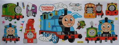 Thomas the Tank Engine & Friends Removable Window Stickers Decals Kids Room Art