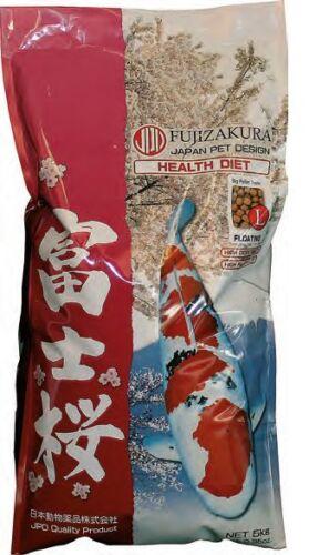 Koi Fourrage fujizakura Nishiki Small 2,5 mm 10 kg immunstimmulierendes Nourriture