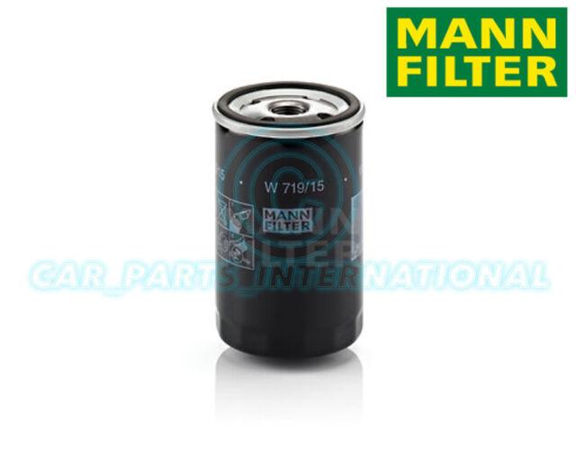 Mann Hummel repuesto de calidad OE MOTOR FILTRO DE ACEITE W 719/15