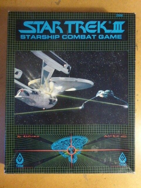Star Trek III Starship Comabt Game by FASA