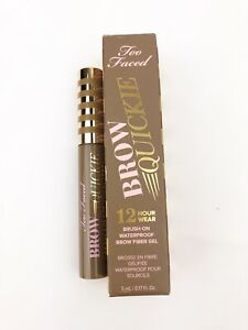 TOO-FACED-BROW-QUICKIE-Brush-Universal-Taupe-Brow-Gel-12HR-Wear-Full-Size-5ml